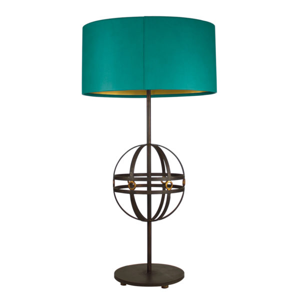 Mondo-Table-Lamp-with-Leather-shade-Teal