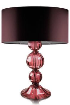 VILLAVERDE_JOYA_MURANO_w_TABLE_LAMP_CHOCOLATE_SHADE_Plum-square