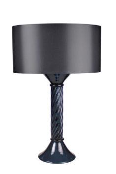 Dante-Table-Lamp—Slate-Murano-and-Slate-Silk